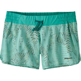 Patagonia W's Nine Trails Shorts Tech Hex: Bend Blue